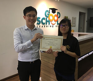 Good School Mentee Wee Mei Xuan