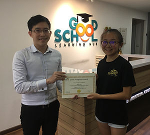 Good School Mentee Adelle Choo