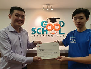 Good School Mentee Adam Loh