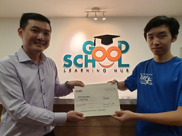 Good School Mentee Adam Loh