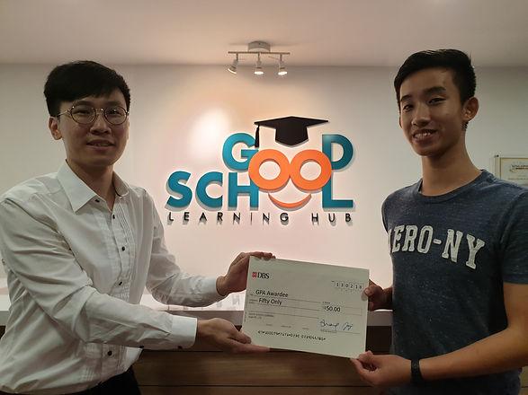 Good School Mentee Arden Koh