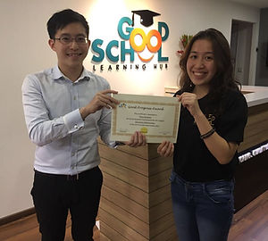 Good School Mentee Phua Gershayn
