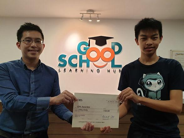 Good School Mentee Gerald Ooi