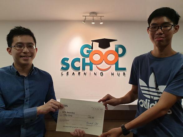Good School Mentee Quah Yan Hui