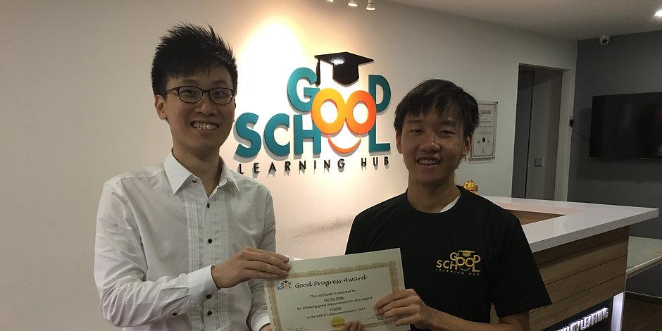Good School Mentee Tze Yong