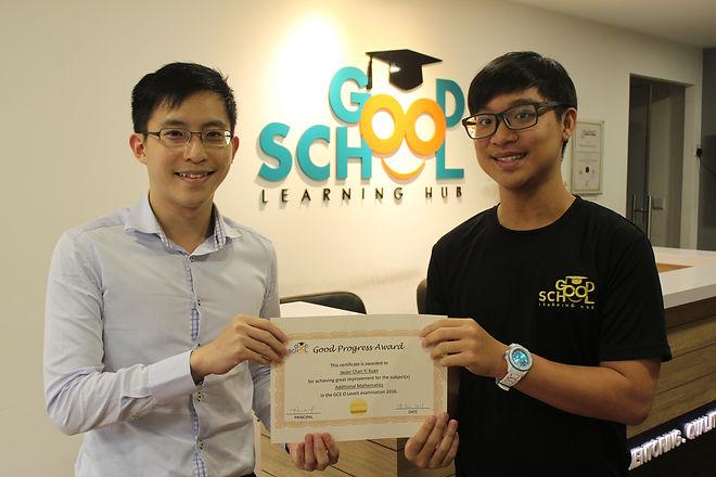 Javier Chan Yi Xuan O Levels Good Progre