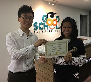Good School Mentee Liau Yi Xuan
