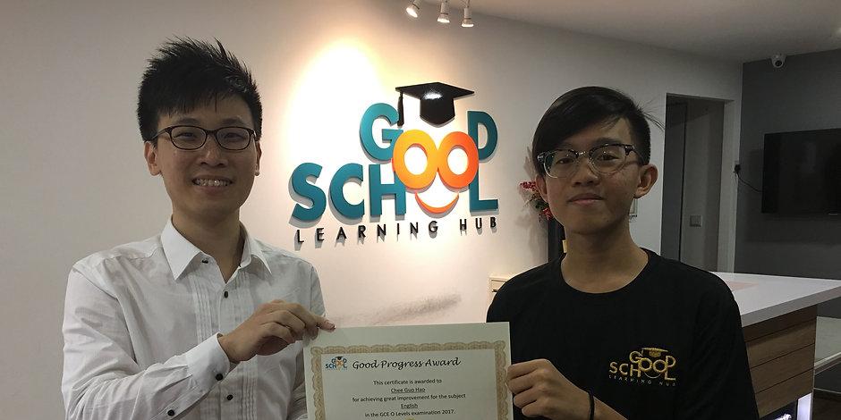 Good School Mentee Chee Guo Hao