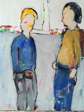 Pieters_Linda_Entry 3_Conversation_Oil a
