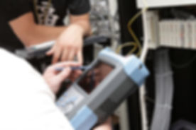 The measurement of fiber optic link on telecom site