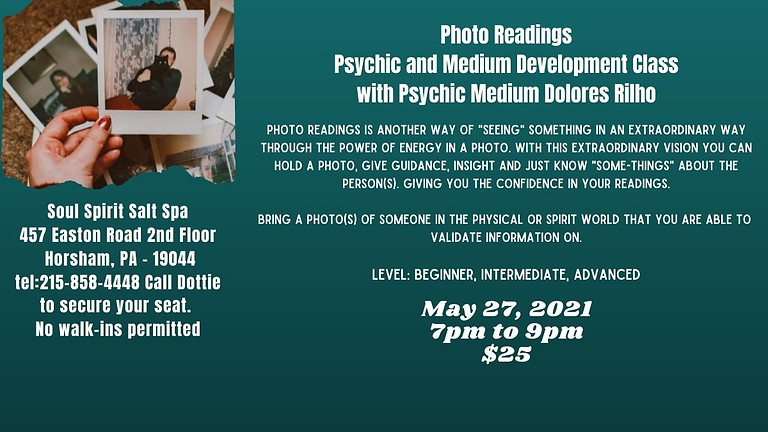 Psychic and Medium Development Class