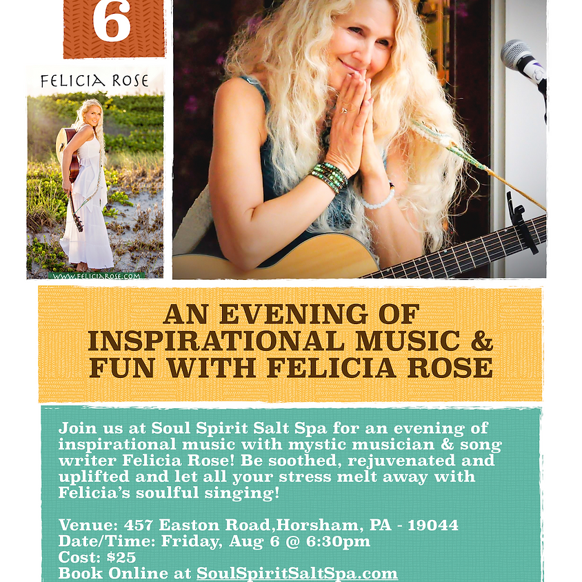 An Evening of Inspirational Music & Fun with Felicia Rose