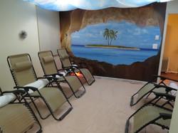 Large Salt Room Backdrop