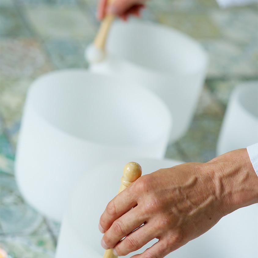 Salty Meditation Sound Healing Bath