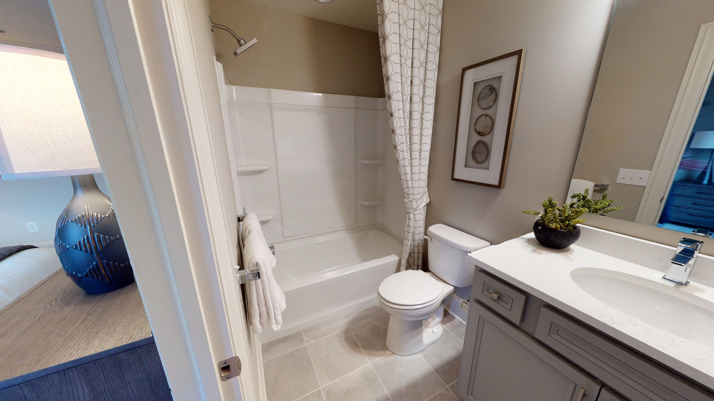 Simple real estate photography bathroom photo
