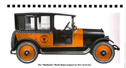 1922 Mogul Taxi