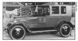 1925 Checker F Taxi