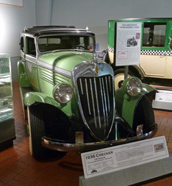 1936 Checker Model Y - Gilmore