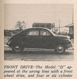 1945 Checker Model D Prototype