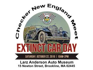 Announcement: New England Checker Meet - Oct. 22, 2016