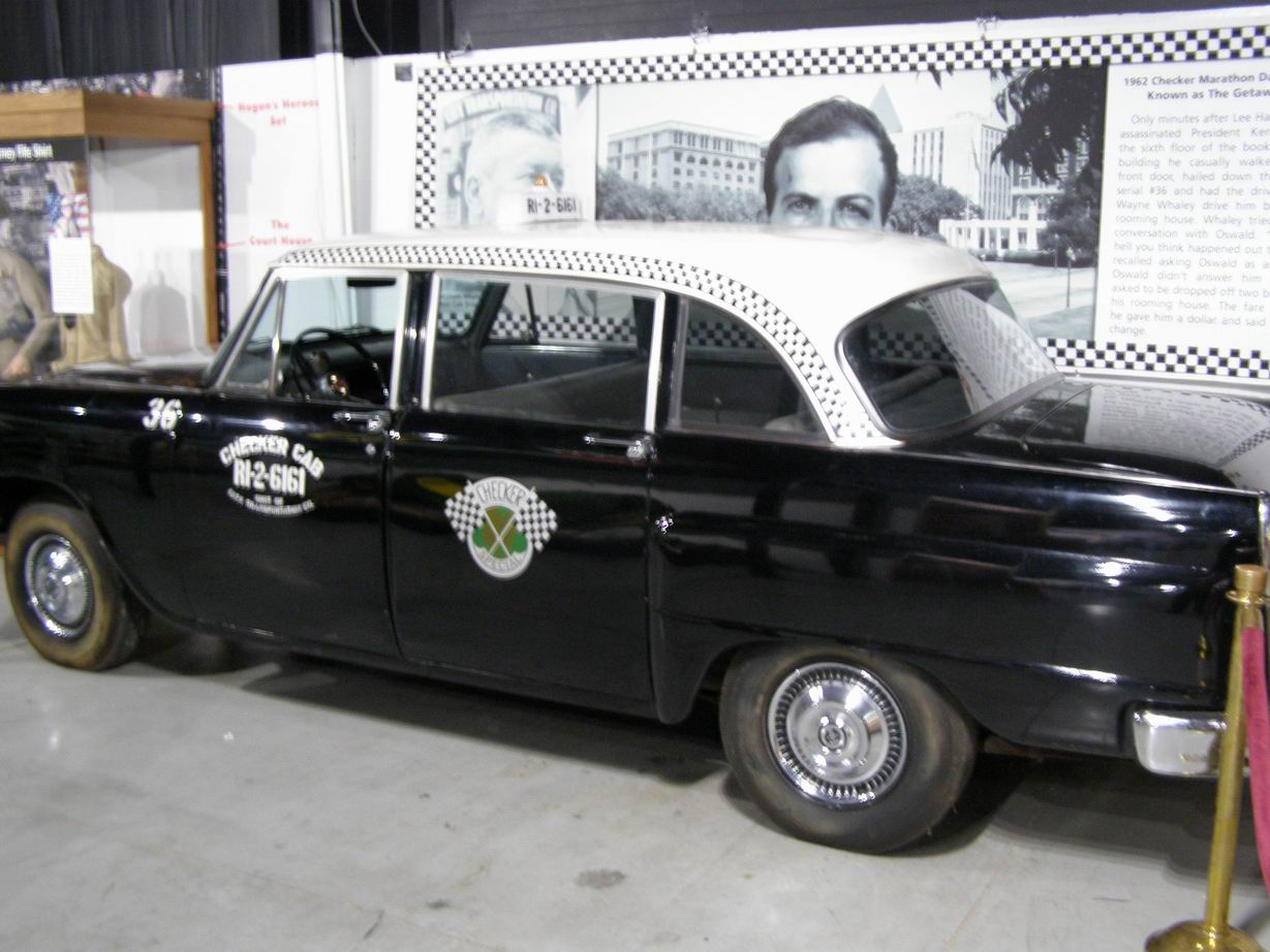 1962 Checker - Lee Harvey Oswald Cab