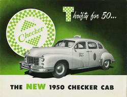 1950 Checker Ad