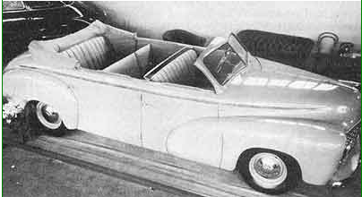 1950 Checker A-2 Convertible 01
