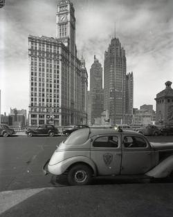 1939 Checker Model A - Chicago Wacker Dr
