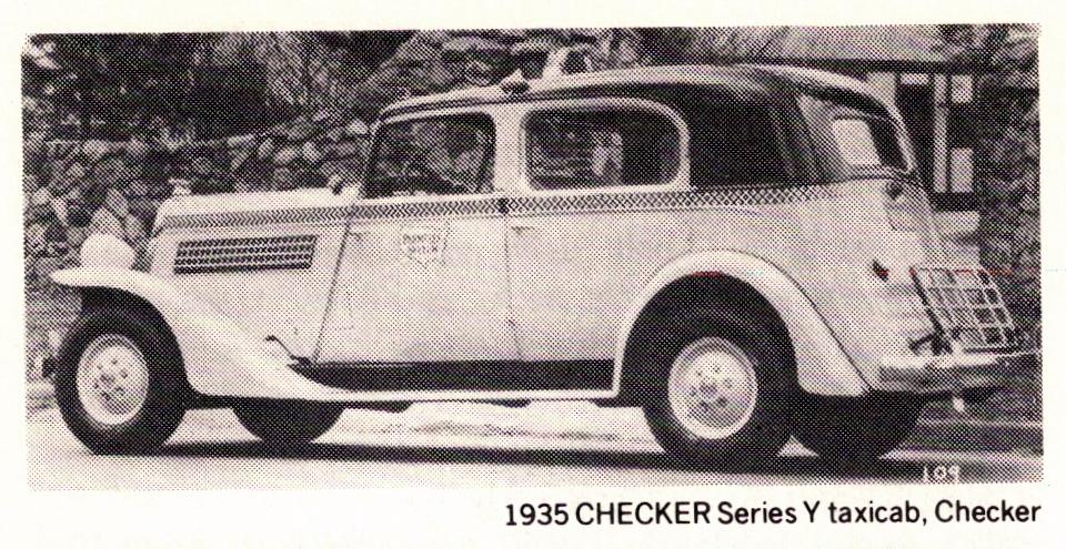 1935 Checker Y Taxi