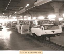1958 Checker A8 Trim Shop