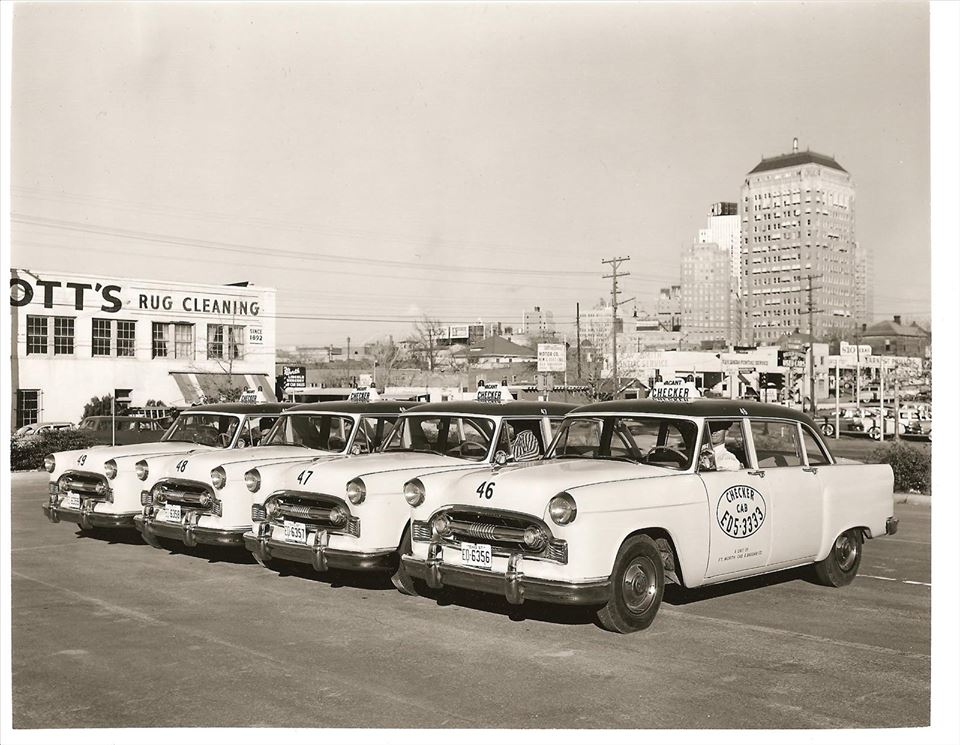 1956 Checker A-8 Cab Fleet