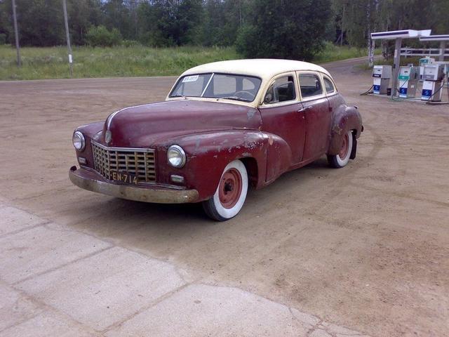 1948  Checker A2 - Finland