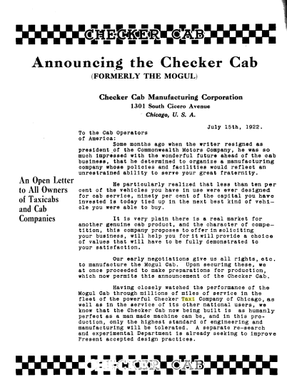 1922 Checker Announcement No 1.png