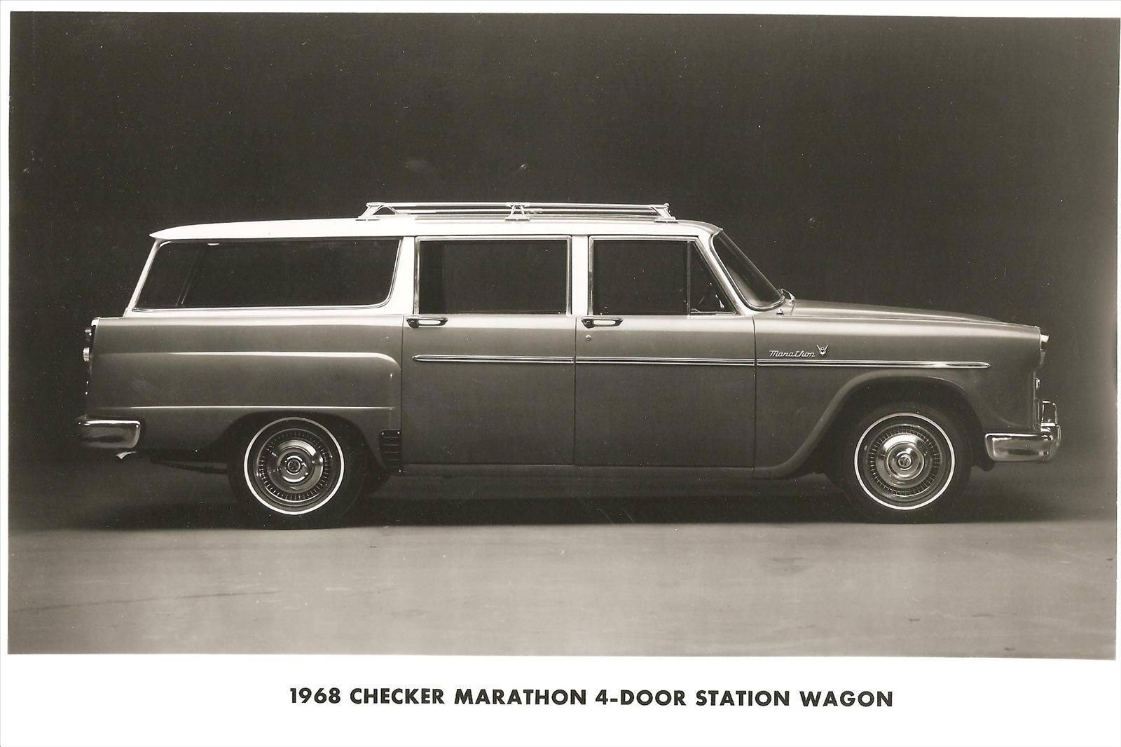 1968 Checker Marathon Stationwagon