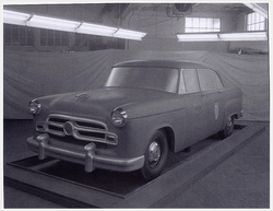 1955 Checker A8 Clay Model