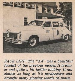 1950 Checker A4