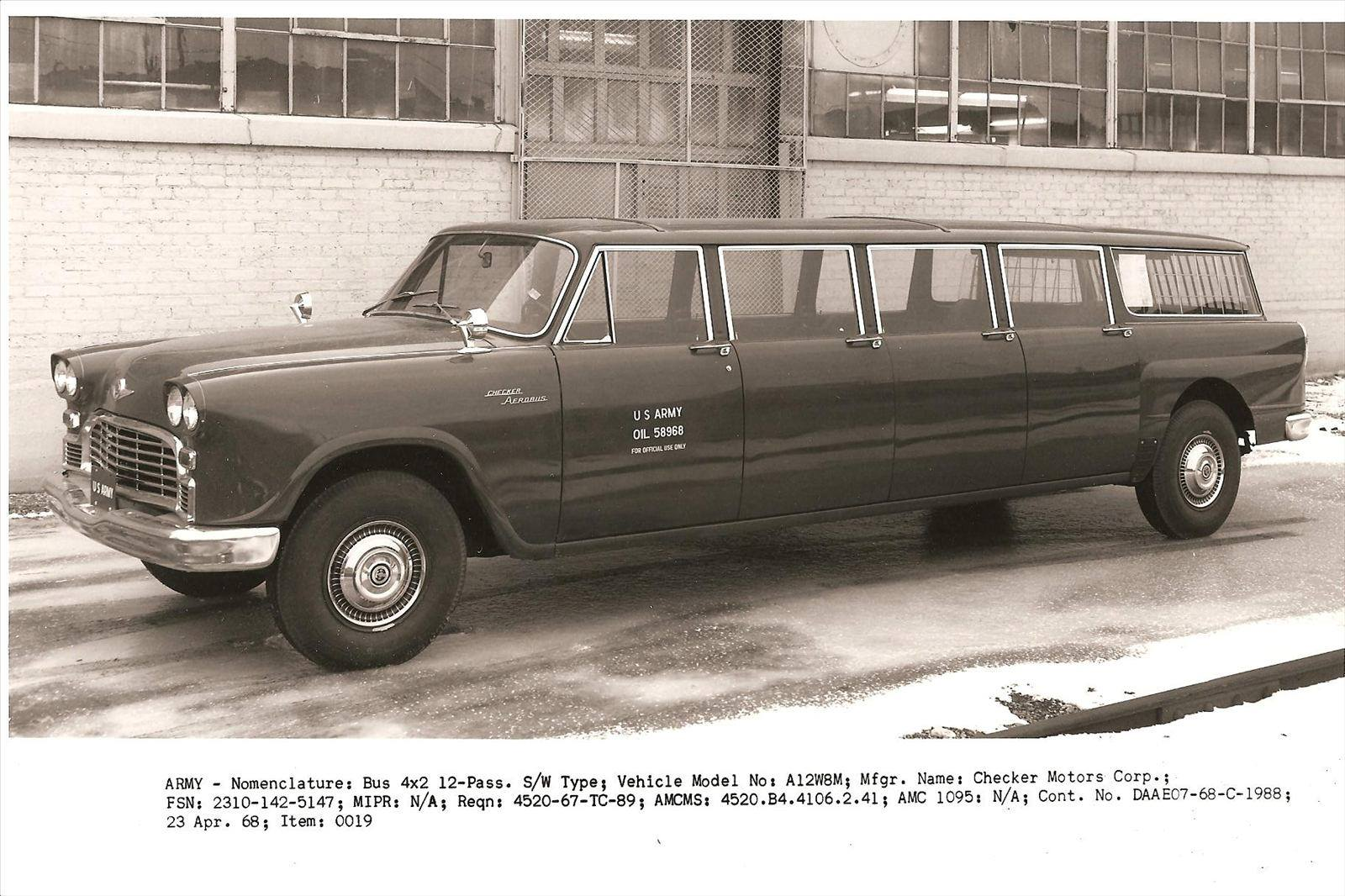 1968 Checker Aerobus A12W