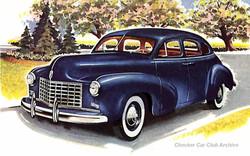 1948 Checker A-3 Limousine Sedan 01w
