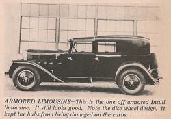 1930 Checker M Insull Limousine