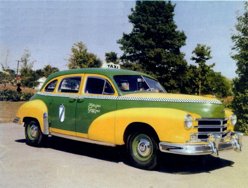 1953 Checker Model A6