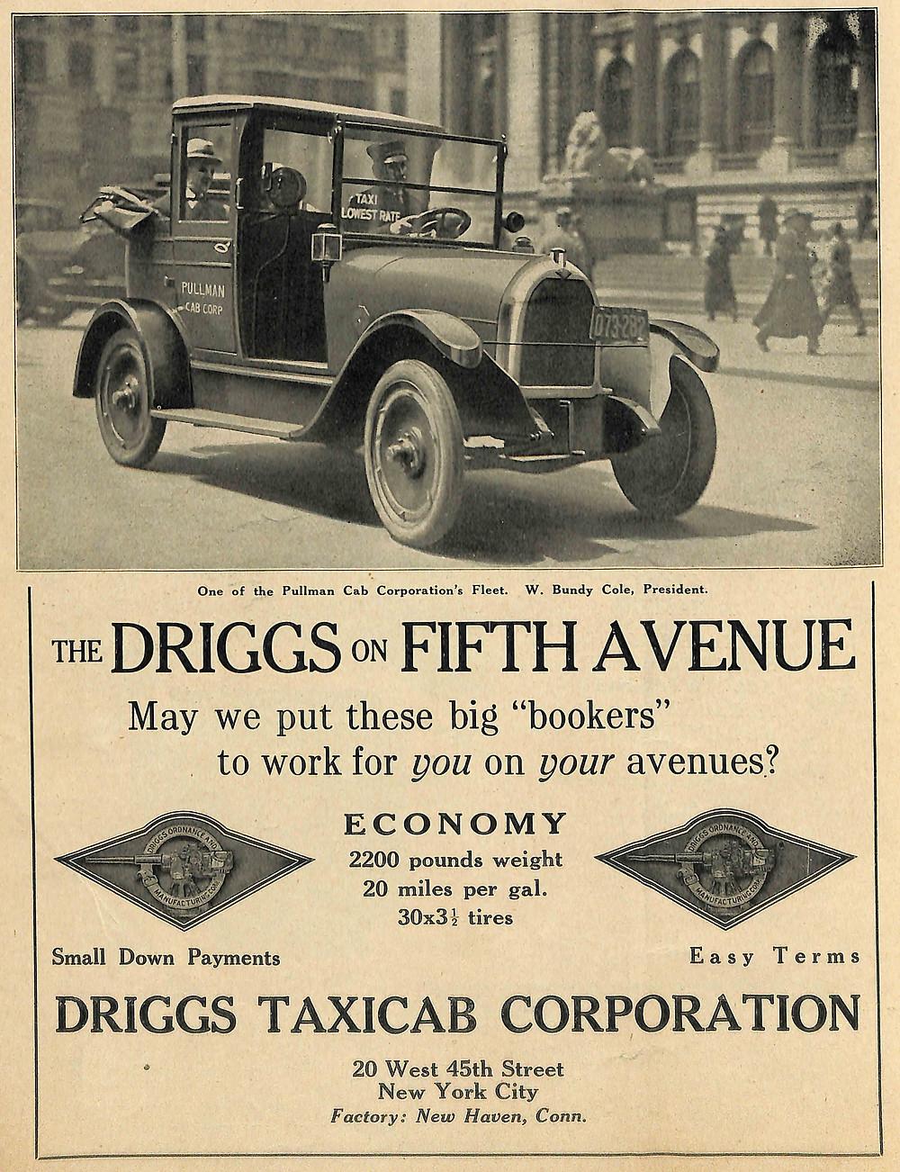 Driggs Taxi, Driggs Cab