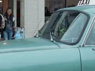 Ed Sheeran Hails a Checker Cab