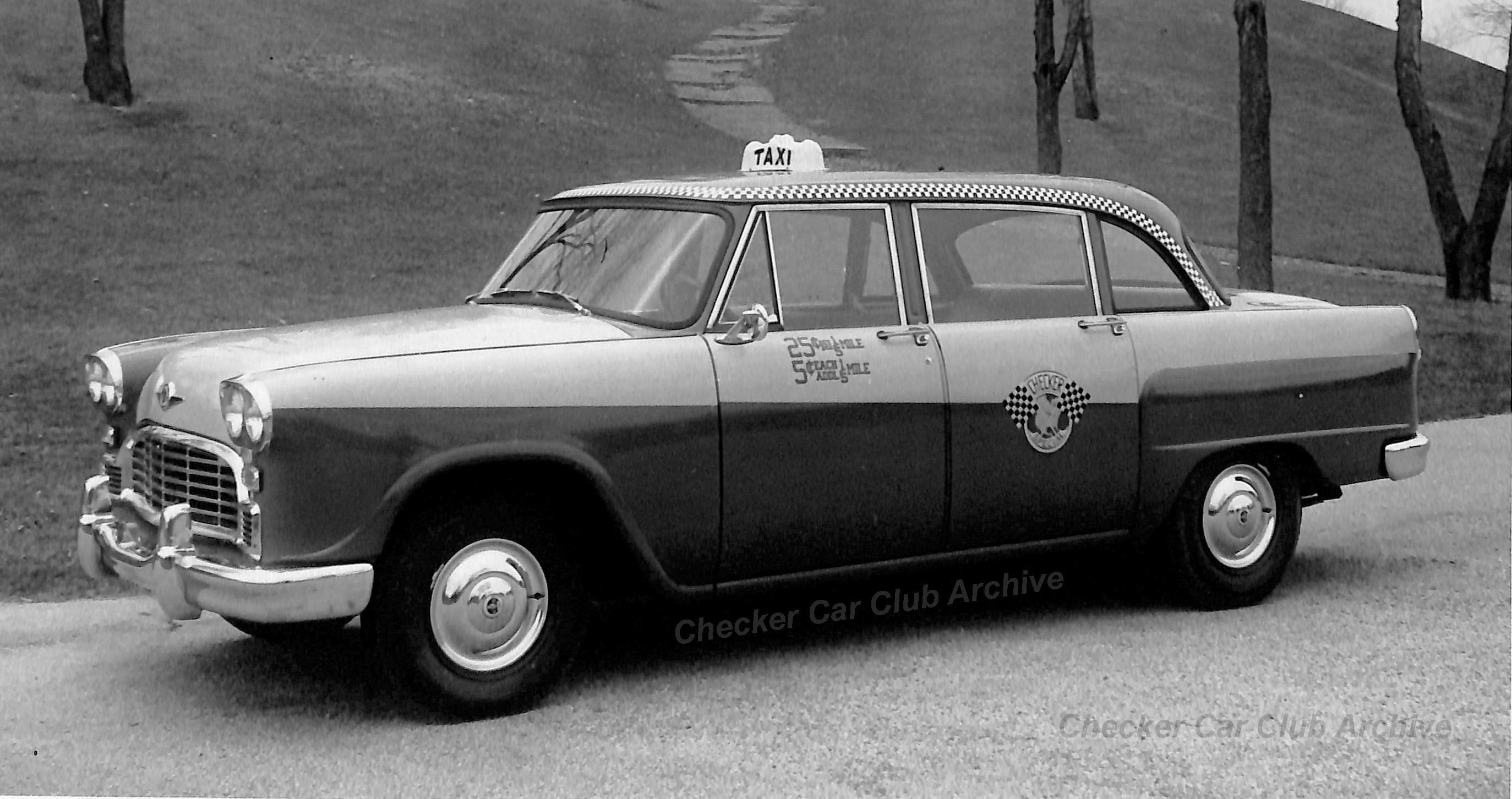 1967 Checker A-11 Taxicab Photo