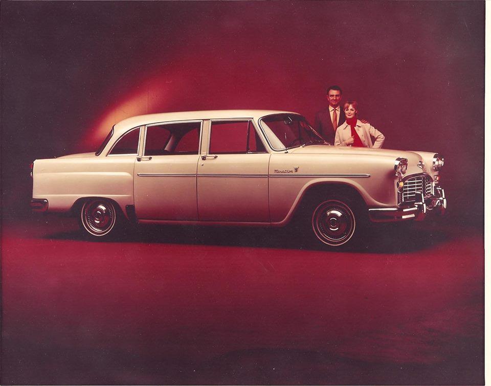 1962 Checker Marathon V8 Ad
