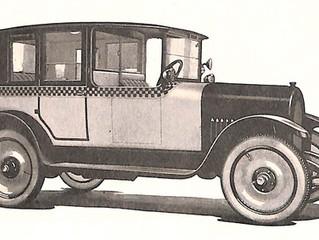 Checker & Other Cabs In 1924
