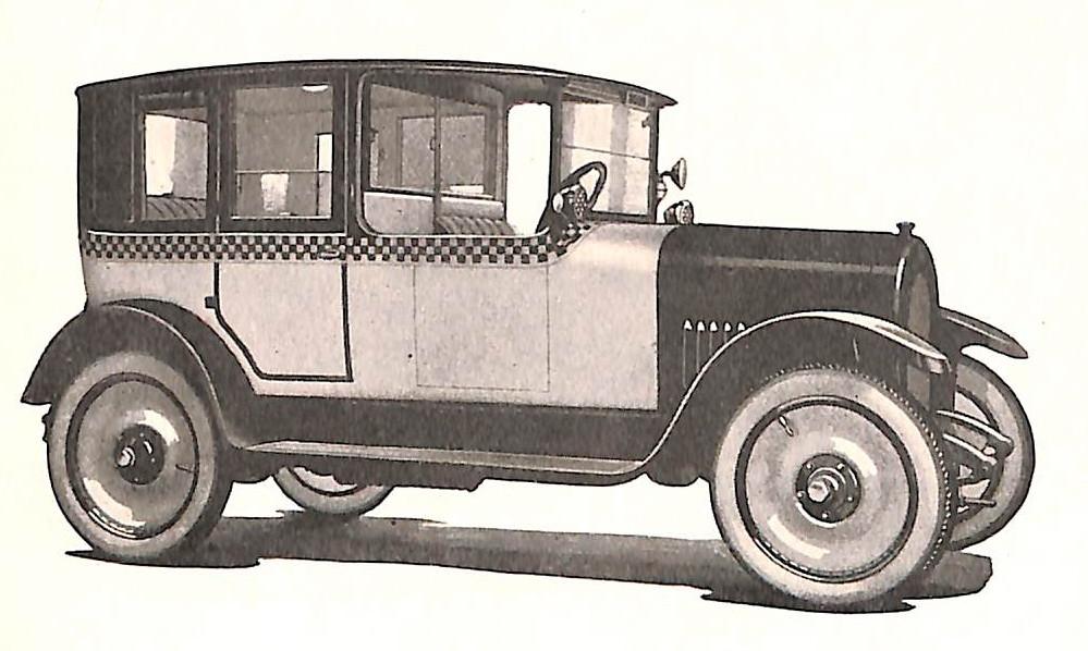 Checker Taxi, Checker Cab, Checker Model E