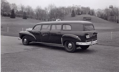 1950 Checker A3 Wagon