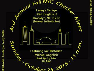 3rd Annual Fall NYC Checker Meet