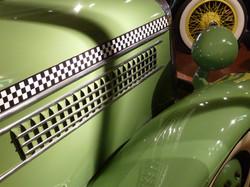 1936 Checker Model Y Hood - Gilmore