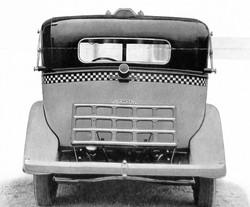 1933 Checker Model T Rear